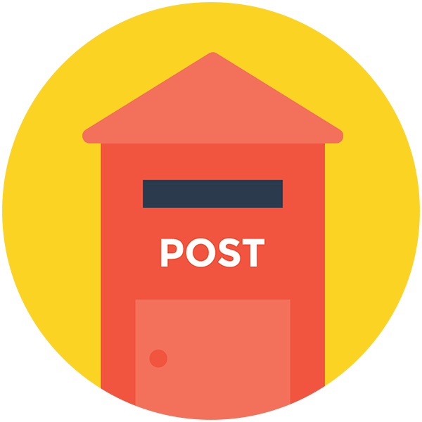 post box illustration