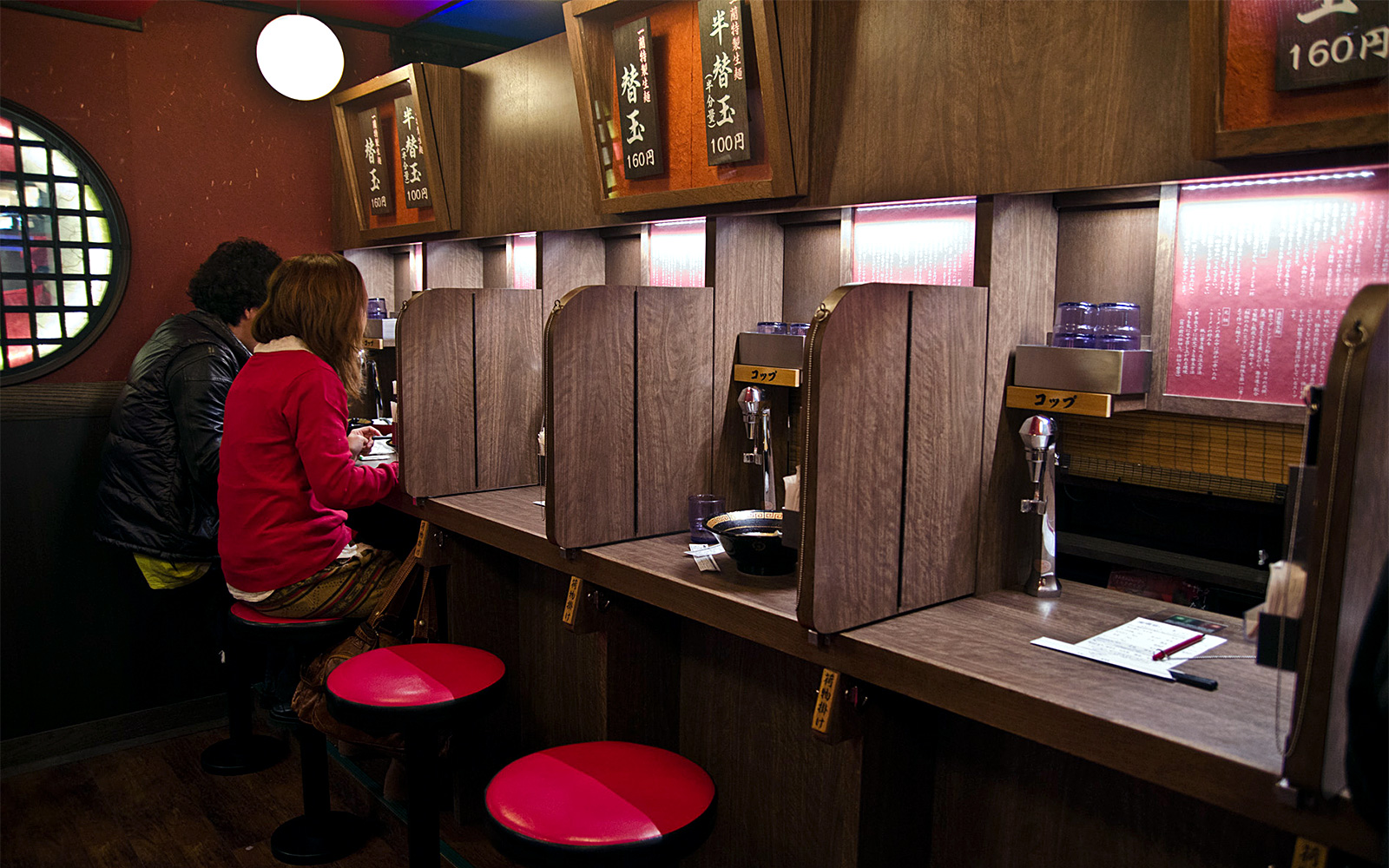 Single traveler Restaurants in Japan