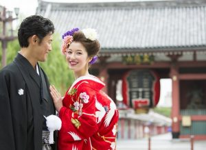 Destination Wedding Pictures in Japan