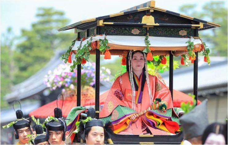Kyoto's Aoi Matsuri