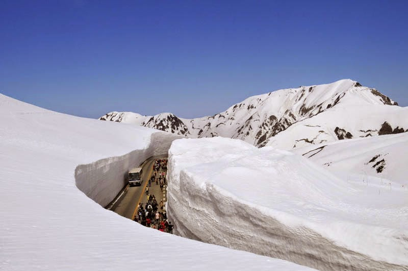 Tateyama Snow Walls