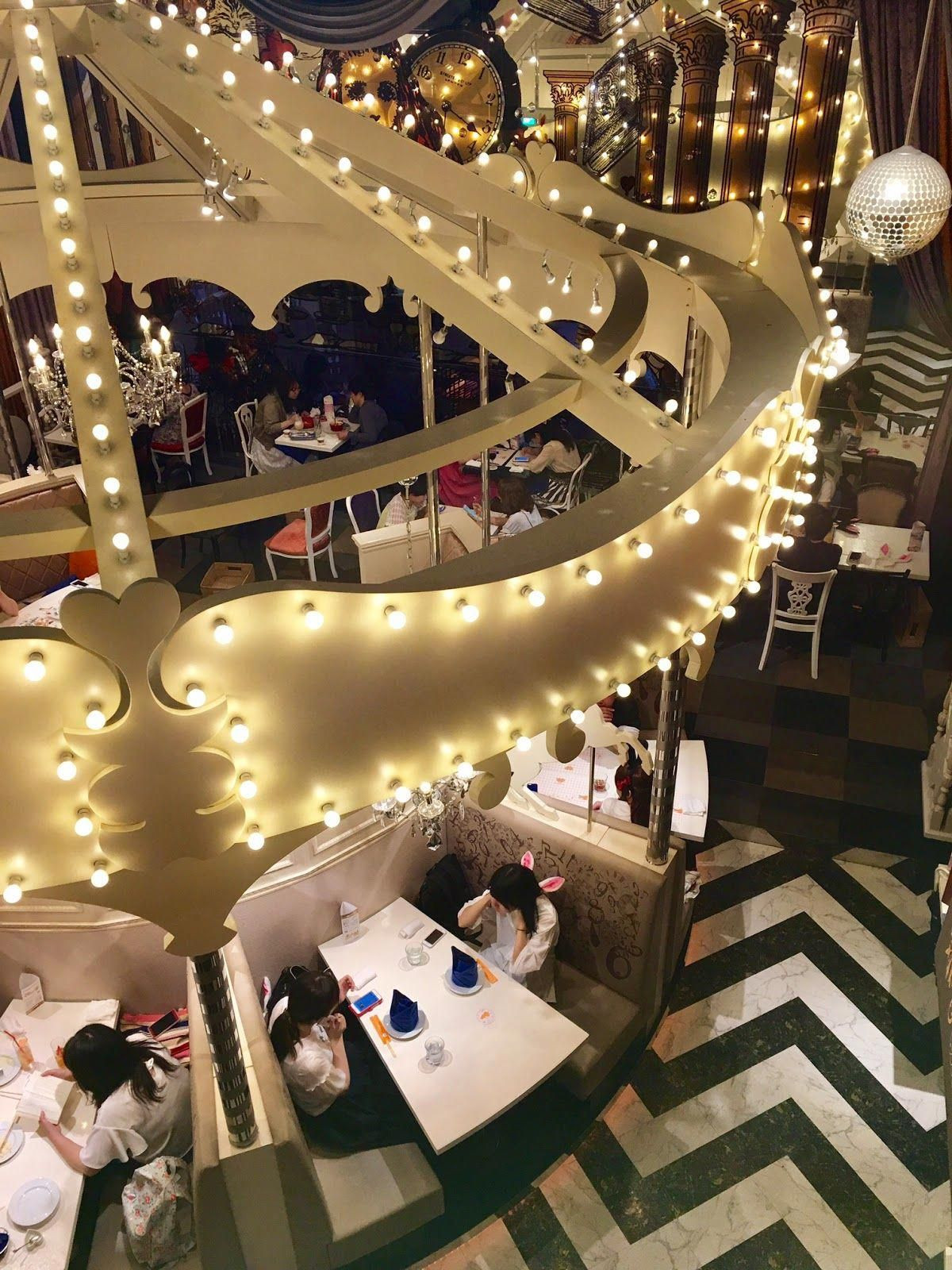 Instagram Worthy Photo Spots in Tokyo: Alice's Fantasy Restaurant