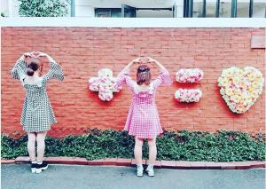 Instagram Worthy Photo Spots in Tokyo: Saint Valentine Church Instagram Wall